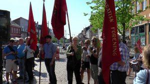 Velfærdsalliancen: Demonstration i Holbæk