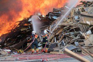 Brand hos Kara/Noverens Miljøcenter Audebo